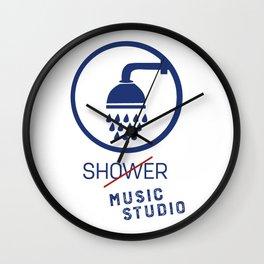 Music Studio Wall Clock