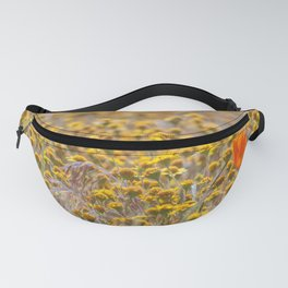 California Goldfields Fanny Pack