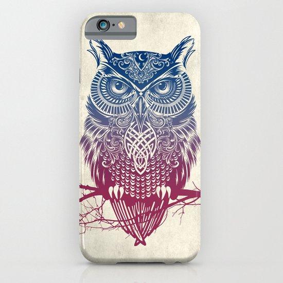 Evening Warrior Owl iPhone & iPod Case