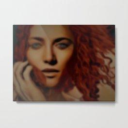 """Alexandria Revisited"" Female Portrait by Jeanpaul Ferro Metal Print"