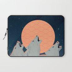 Howling Moon Laptop Sleeve