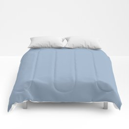 Solid Blue Gray Color Comforters
