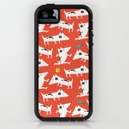 See Spot run iPhone Case