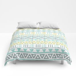 Aztec Influence Ptn Colorful Comforters
