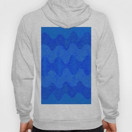 Under the Influence (Marimekko Curves) Feeling Blue Hoody