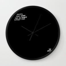 Beautiful Things Wall Clock