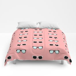 All Them Glasses - Flamingo Comforters
