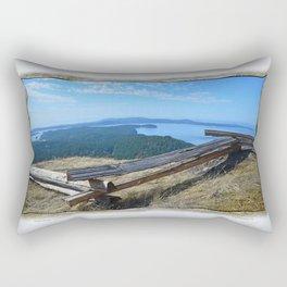 VIEW FROM TURTLEHEAD Rectangular Pillow