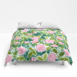 Roses in Bloom Comforters