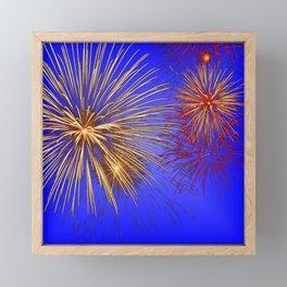 Pyrotechnic Framed Mini Art Print