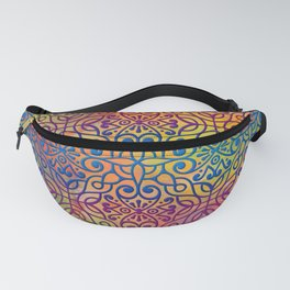 DP050-1 Colorful Moroccan pattern Fanny Pack