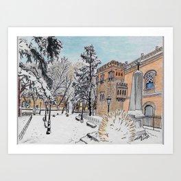 Spanish Palace Art Print