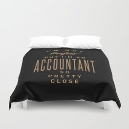 Accountant - Funny Job and Hobby Duvet Cover