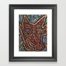 The Minotaur Framed Art Print