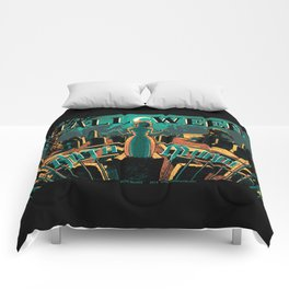 KOTA MUNDI Halloween Poster Comforters