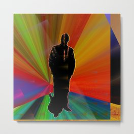 The LEGEND by The Whimsical Peacock Metal Print