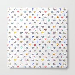 ac emotions/ feelings pattern Metal Print