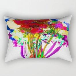 Belle Anemoni or Beautiful Anemones Rectangular Pillow