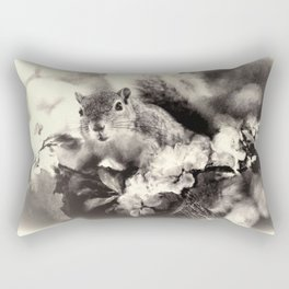 Feeling Squirrelly Today Rectangular Pillow