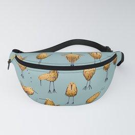 Naughty Birds and a Potato Fanny Pack
