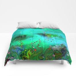 Grass Green Comforters