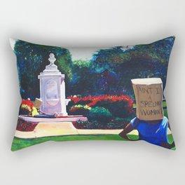 Ain't I a Spelman Woman?  Rectangular Pillow