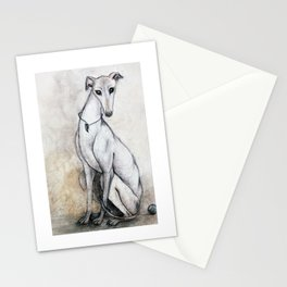 The Greyhound Wearing His Thorn Stationery Cards