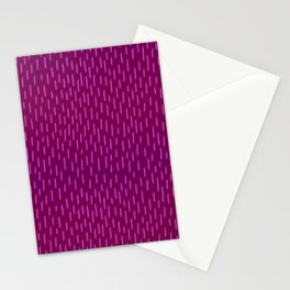 Magenta Dash Stationery Cards