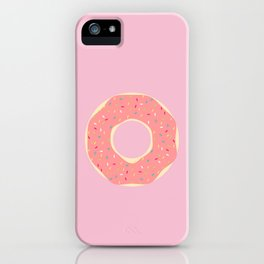 #93 Doughnut iPhone Case