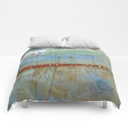 Harbour Abstract II - JUSTART (c) Comforters