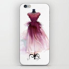 Beautiful dress iPhone Skin