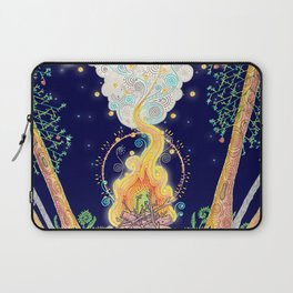 Woodland Campfire Laptop Sleeve