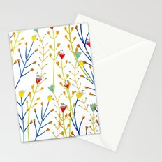 Floral pattern, illustration pattern, flowers, prretty Stationery Cards
