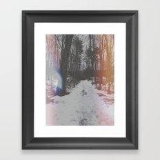 Huntington Park. Framed Art Print