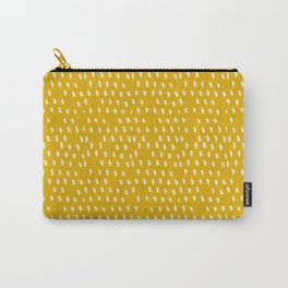 Yellow Modernist Carry-All Pouch