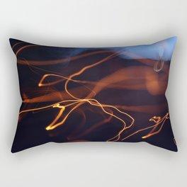 bokeh light Rectangular Pillow