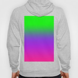 OMBRE -GRADIENT- PLASTIC PINK PROTON PURPLE- UFO GREEN WORLDWIDE TRENDING COLOR / COLOUR Hoody