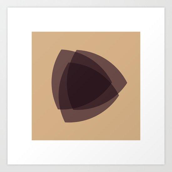 #24 An hommage to Felix Wankel Art Print