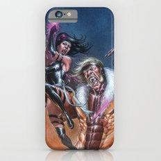 Psylocke vs Sabretooth iPhone 6s Slim Case