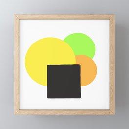 Fruitti Equilibrium Framed Mini Art Print