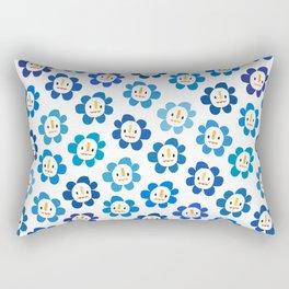 Happy Flowers Rectangular Pillow