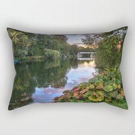 The Thames At Pangbourne Rectangular Pillow