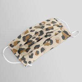 Leopard Print – Neutral Gold Light Palette Face Mask