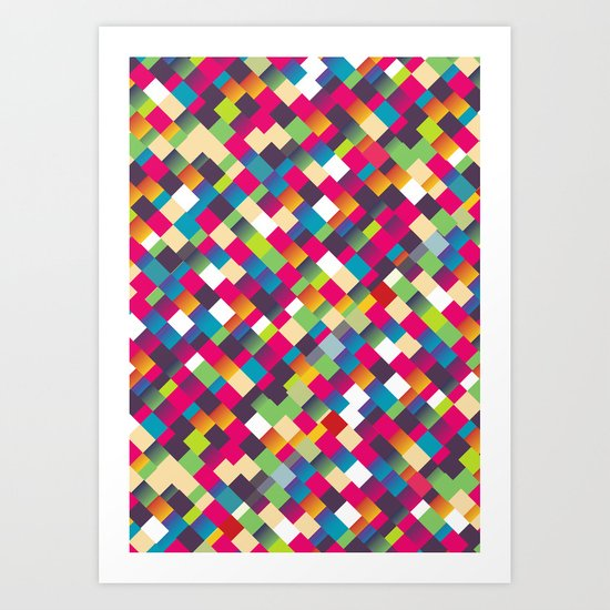 Sweet Pattern Art Print