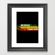 Reggae Is Forever II Framed Art Print