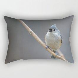 Tufted Titmouse 9639 Rectangular Pillow