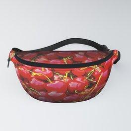 cherries pattern reaclistd Fanny Pack