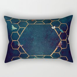 Butterfly invasion Rectangular Pillow