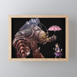 Bioshock Rapture Poster Framed Mini Art Print