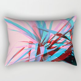 Duotone Palms Rectangular Pillow